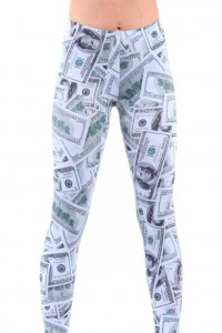 Show Me The Money Leggings Cool Stuff To Buy And Collect