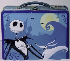 nightmare before christmas lunch box blue