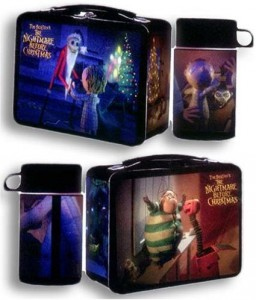 nightmare before christmas lunch box set
