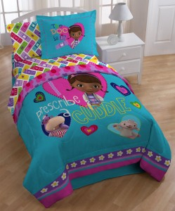 doc mcstuffins bedding blue