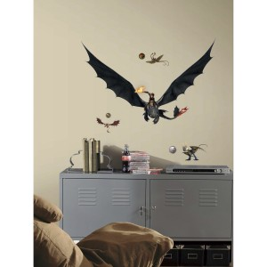 how to train your dragon2 wall decal