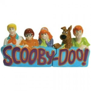 scooby doo salt pepper shaker gang