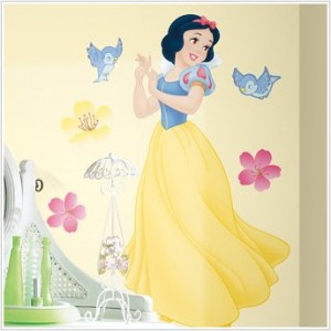 snow white wall decals