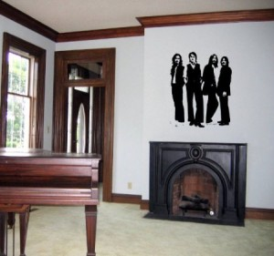 the beatles wall decal stiker