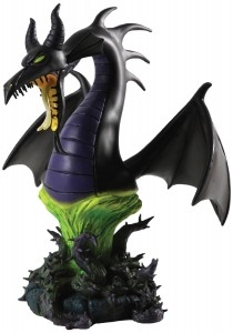 maleficent dragon bust