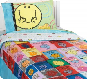 mr men little miss bedding happy