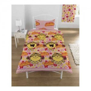 mr men little miss bedding sunshine