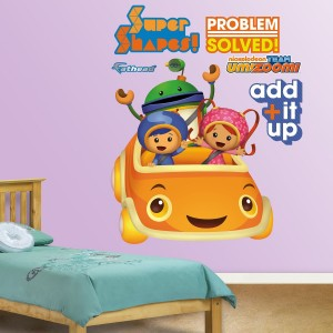 team umizoomi wall decal sticker