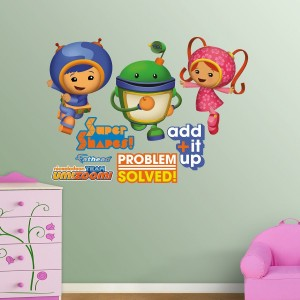 team umizoomi wall decals