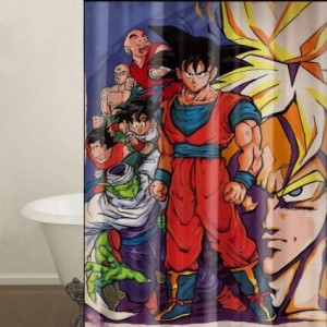 Dragon Ball Shower Curtain Cool Stuff To Buy And Collect