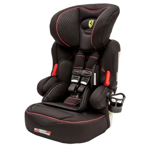 ferrari car seat black