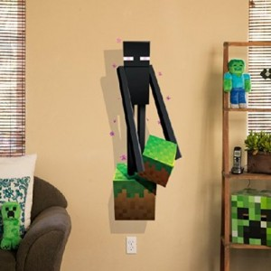 minecraft wall decal enderman