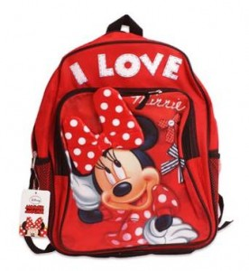 minne mouse backpack red