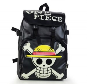 one piece backpack black