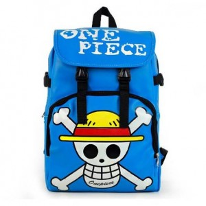 one piece backpack blue