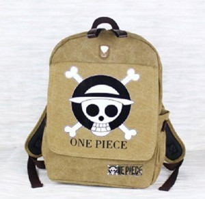 one piece backpack canvas