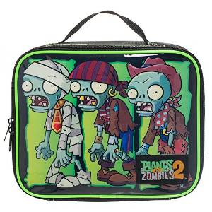 plants vs zombies lunch bag