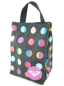 roxy lunch bag polka