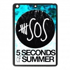 5 seconds of summer ipad case blue
