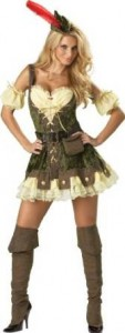 robin hood costume woman