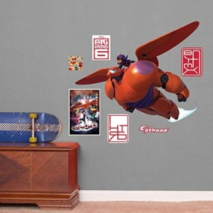 big hero 6 wall decal decor