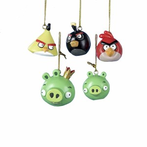 angry birds christmas ornament