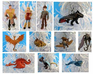 how to train dragon christmas ornament