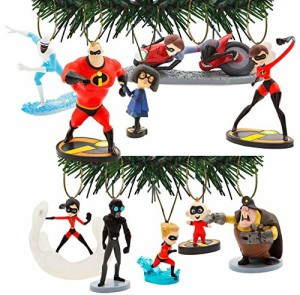 incredibles 2 christmas ornament