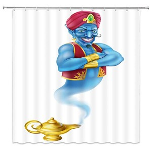 aladdin shower curtain