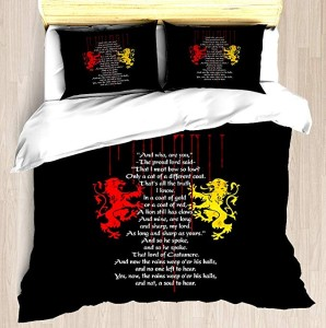 game of thrones bedding 5