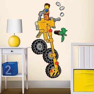 lego movie wall decal